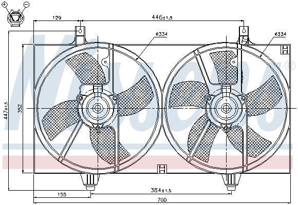 Principales combi /& Système 24HE chaudière ventilateur de pression Sensing Venturi 5112621