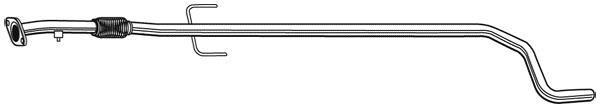 Tuyau D'échappement WALKER 10554