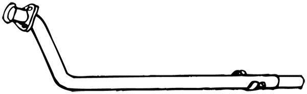 Tuyau d'échappement WALKER 15410