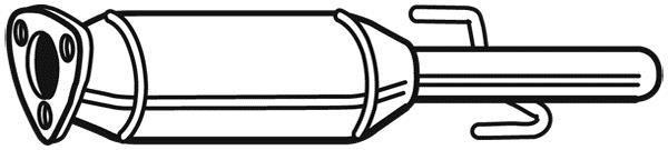 Filtre à Particules / à Suie, échappement WALKER 73189