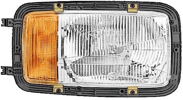 Phare Avant HELLA 1LH 002 658-521