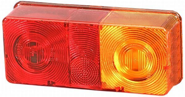 Verre de phare de feu arrière HELLA 9EL 116 844-001