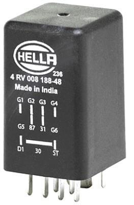 Boîtier De Préchauffage HELLA 4RV 008 188-481