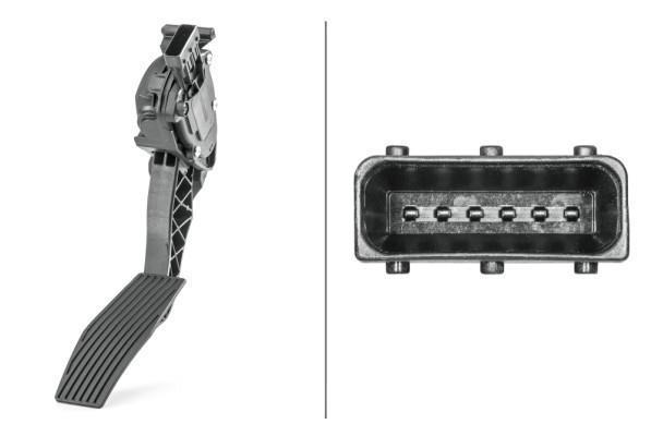 Capteur de position de pédale d'accélérateur HELLA 6PV 009 765-741