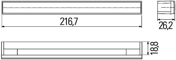 Kit de feu de roulage de jour HELLA 2PT 980 680-821