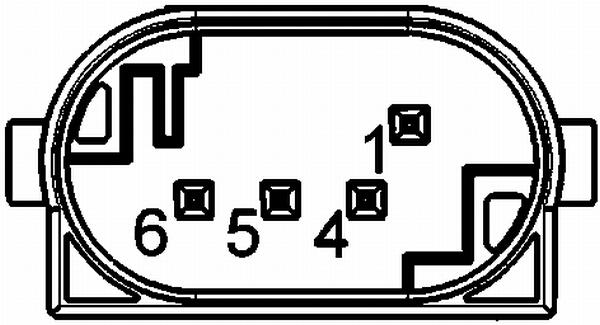 Correcteur électrique HELLA 6PM 008 161-151