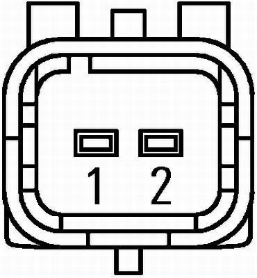 Capteur ABS HELLA 6PU 009 106-371