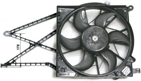 Ventilateur De Refroidissement Du Moteur NRF B.V. 47582