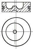 Piston NURAL 87-279600-10