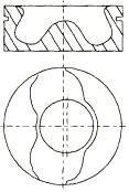 Piston NURAL 87-108000-00