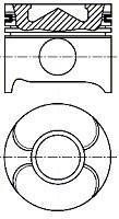 Piston NURAL 87-117900-00
