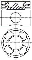 Piston NURAL 87-114400-10