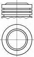 Piston NURAL 87-139400-00