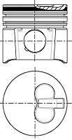 Piston NURAL 87-152007-10