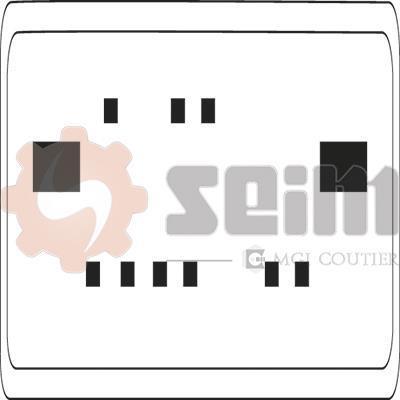 Mécanisme De Lève-vitre SEIM 980010