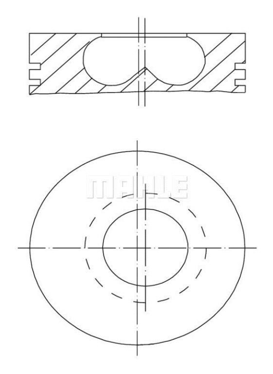 Piston MAHLE Aftermarket 009 50 00