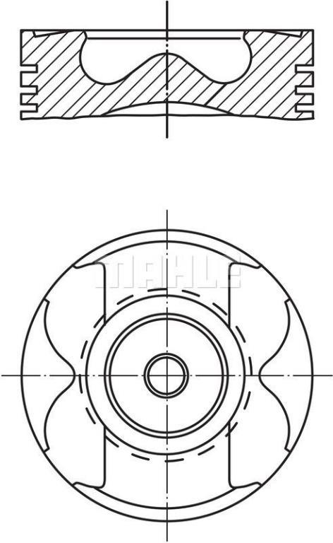 Piston MAHLE Aftermarket 005 23 01