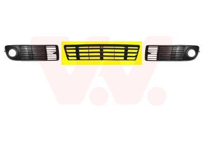 Grille de ventilation, pare-chocs VAN WEZEL 0315590