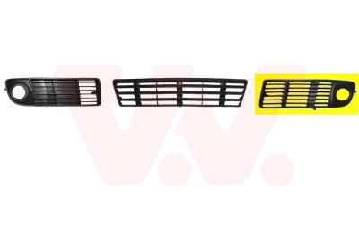 Grille de ventilation, pare-chocs VAN WEZEL 0315595