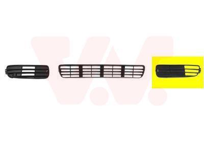 Grille de ventilation, pare-chocs VAN WEZEL 0322591