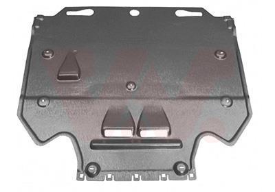 Insonorisation du compartiment moteur VAN WEZEL 0342702