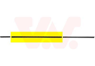 Baguette et bande protectrice, porte VAN WEZEL 0640423
