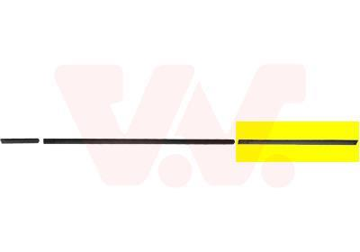 Baguette et bande protectrice, porte VAN WEZEL 0640426