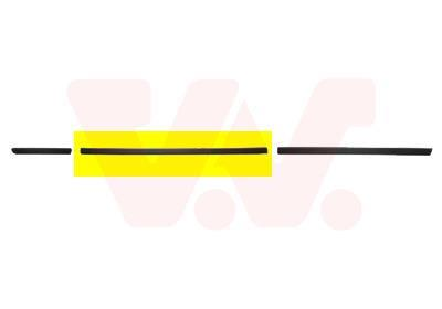 Baguette et bande protectrice, porte VAN WEZEL 0646423