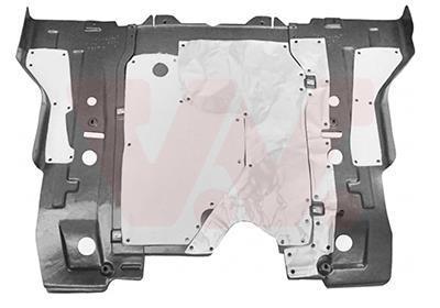 Insonorisation du compartiment moteur VAN WEZEL 3872701