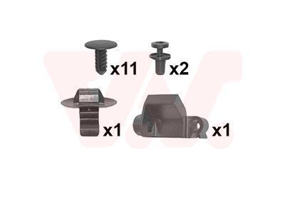 Kit d'assemblage, capot-moteur VAN WEZEL 4060797