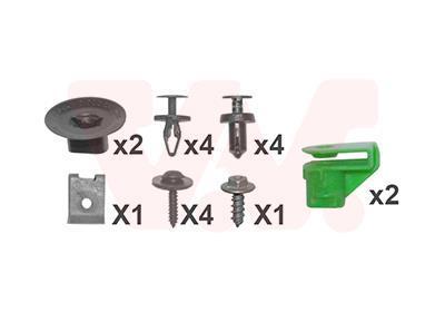 Kit d'assemblage, pare-chocs VAN WEZEL 4328793