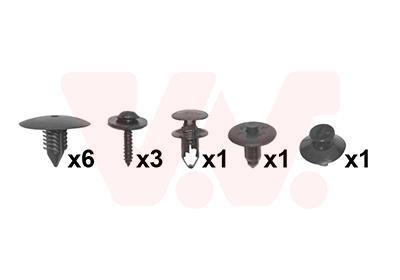 Kit de montage, aile VAN WEZEL 4341796