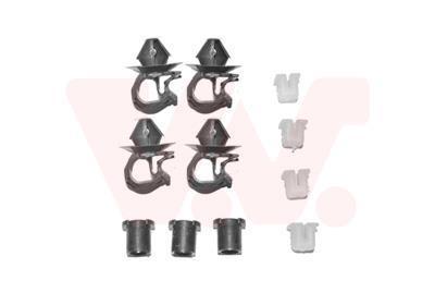 Kit d'assemblage, capot-moteur VAN WEZEL 4342797