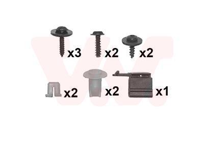Kit d'assemblage, pare-chocs VAN WEZEL 4371793