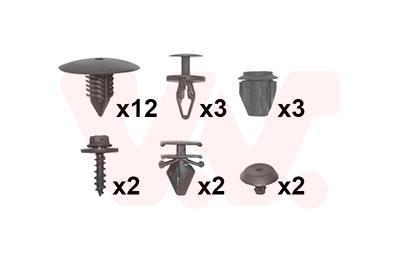 Kit de montage, aile VAN WEZEL 4377796