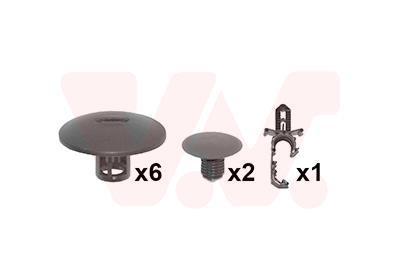 Kit d'assemblage, capot-moteur VAN WEZEL 4380797