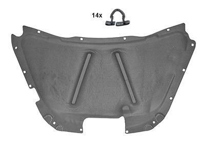 Insonorisation du compartiment moteur VAN WEZEL 5805460