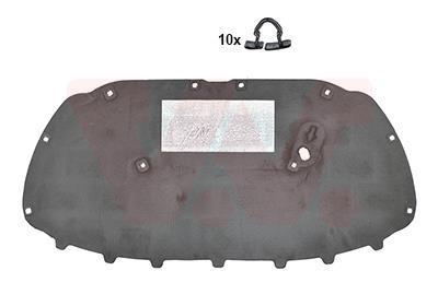Insonorisation du compartiment moteur VAN WEZEL 5829460