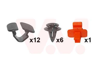 Kit d'assemblage, capot-moteur VAN WEZEL 7622797