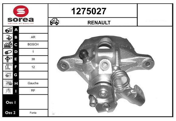 Étrier de frein SNRA 1275027