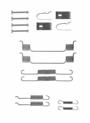 Kit d'accessoires, mâchoire de frein NIPPON PIECES SERVICES M351A16