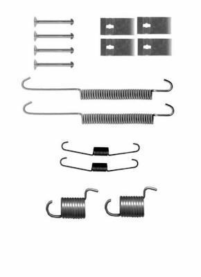 Kit d'accessoires, mâchoire de frein NIPPON PIECES SERVICES S351I01