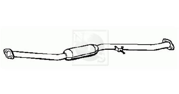 Echappement NIPPON PIECES SERVICES S430U21