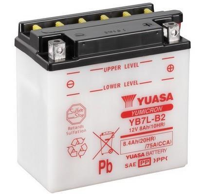 Batterie moto YUASA YB7L-B2