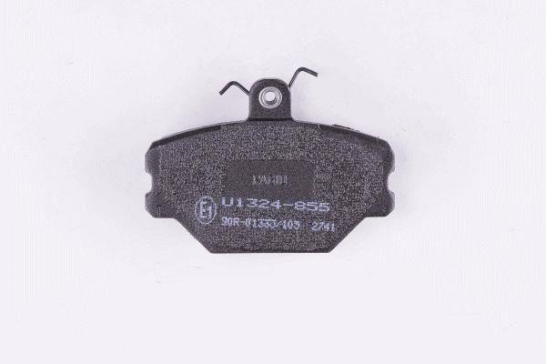 Jeu de 4 plaquettes de frein HELLA PAGID 8DB 355 006-191