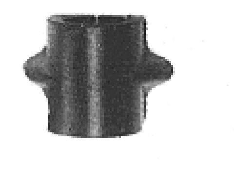 Support, suspension du stabilisateur Metalcaucho 00166