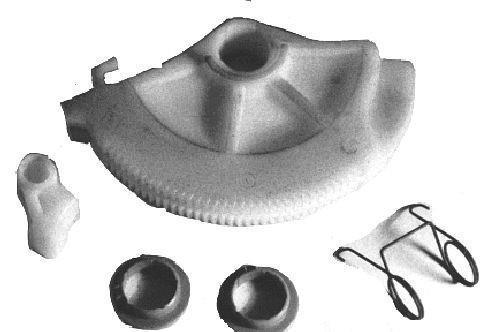 Kit de rattrapage automatique de la pédale d'embrayage Metalcaucho 00793