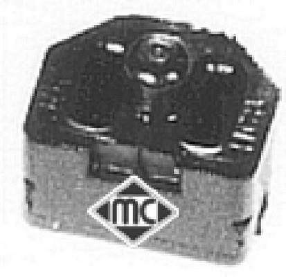 Suspension, radiateur Metalcaucho 02845