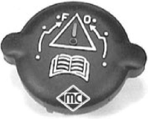 Bouchon, réservoir de liquide de refroidissement Metalcaucho 03548