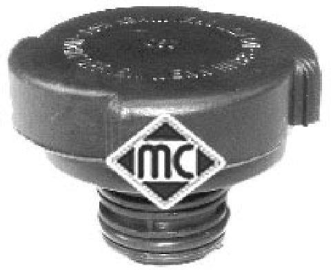 Bouchon, réservoir de liquide de refroidissement Metalcaucho 03580